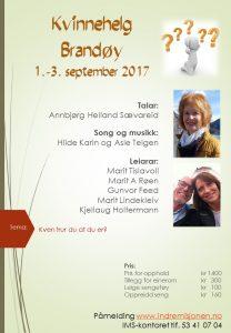 Kvinnehelg på Brandøy @ Brandøy