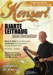 Konsert med Bjarte Leithaug @ Framnes Arena