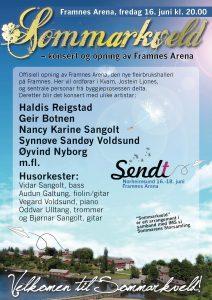 Sommarkveld @ Framnes Arena