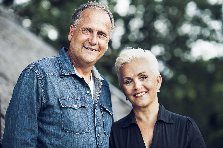 Mette og Roger til Sunnhordland