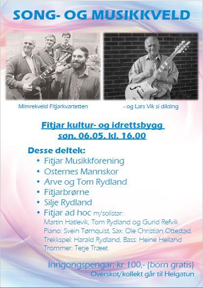 Song- og musikkveld Fitjar