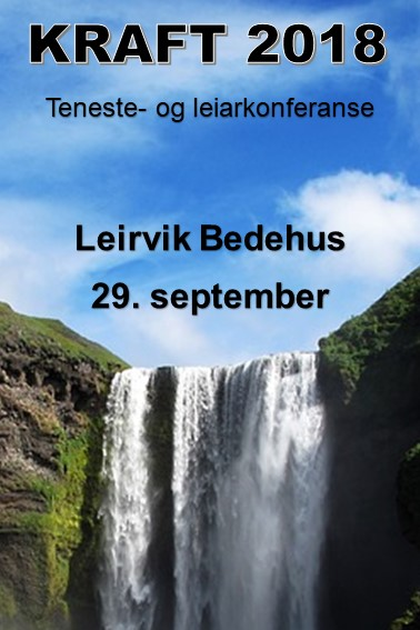 KRAFT 2018 – Teneste- og leiarkonferanse 29. september