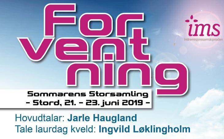 Sommarens Storsamling, IMS sitt årsmøte på Stord 21.-23. juni 2019