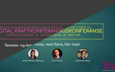 Digitale konferansar i februar